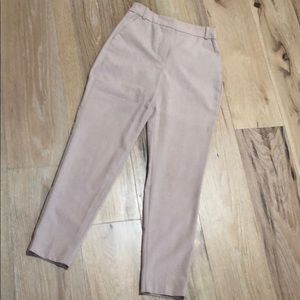 Pink straight leg trouser